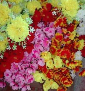 Цветы искутственные на пасху