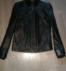 Куртка натуральная кожаная.