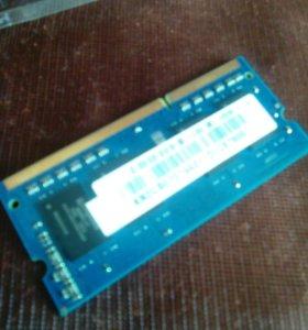 ОЗУ на ноутбук DDR 3L