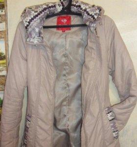 Куртка демисезон приталеная болоневая