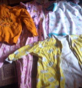 Пакет детской одежды бу