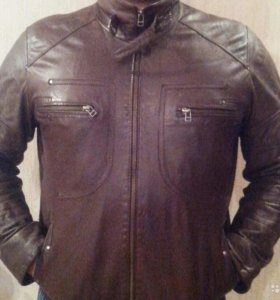 Продаю мужскую куртку. Натуральная кожа