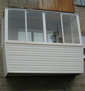 Балконы, окна, ворота, рольставни