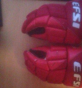 Краги, 14 (хоккейные перчатки)