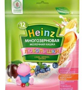 "Каша ""Heinz"" любопышки молочная"