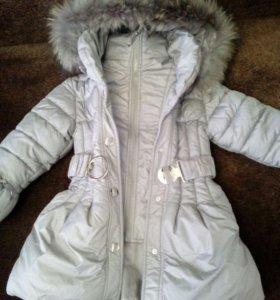 Пальто демисезонное на девочку.размер116