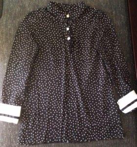 Рубашка тонкая свободная cotton 100% 😍