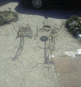 велосипеды кованые