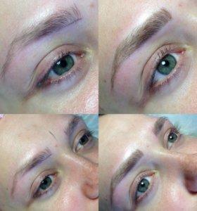 Перманентный макияж( губы, брови, глаза)