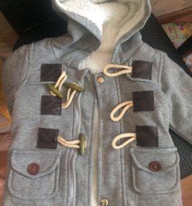 Куртка-толстовка 98
