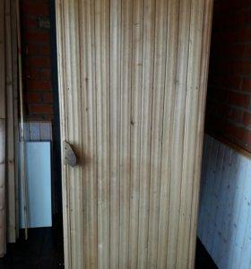 Дверь для бани,сауны б/у