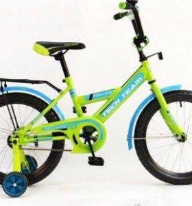 """Велосипед детский TT 14"""" возраст от 3-6 лет. НОВЫЕ"""