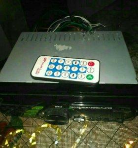 Магнитола USB,AUX и т.д