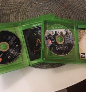 Battlefield4, Diablo3 и Assassins creed Единство.