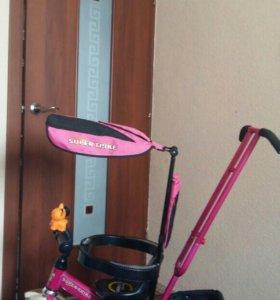 Срочно! Велосипед детский трёхколёсный