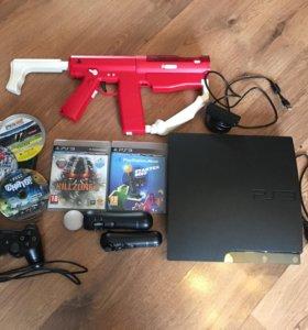 Playstation 3+Playstation move и акксесуры