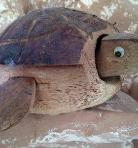 Фигурка черепахи - 20 см