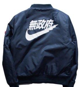 Куртка новая бомбер