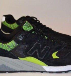 Модные кроссовки New Balance 580 замшевые