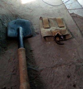 Продам солдатскую лопату