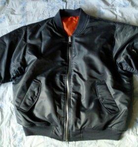 куртка пилот новая 58-60