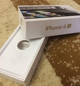 Коробка iPhone 4s (original)