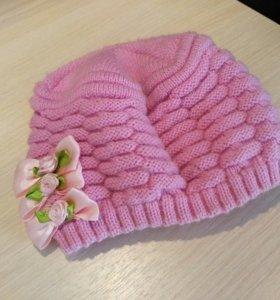 Детская шапочка на весну и осень