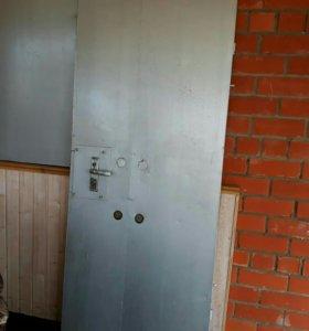 Дверь металл огнеупорная