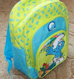 Новые рюкзачки со смурфиком
