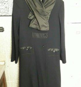 Модное пальто р. 46-48