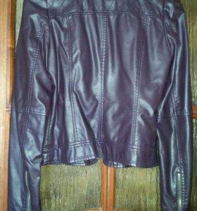 Куртка кож. зам. Состояние новой