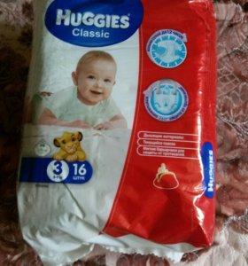 Подгузники Huggies Classic 4-9 кг