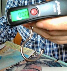 Карманные цифровые весы от10гр.до50кг.