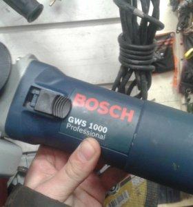 Ушм Bosch gws 1000