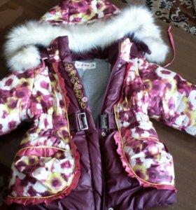 Куртка зима детск