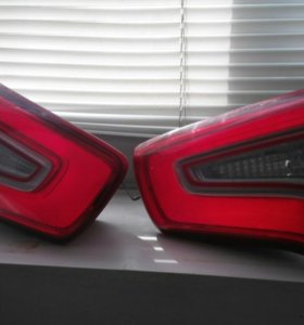 Фонари багажника kia sportage 3 с диодами
