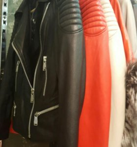 Куртка натуральная кожа джумба