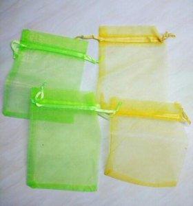 Бонбоньерки мешочки из органзы