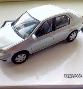модель renault logan