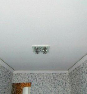 Натяжные потолки, бастро, качественно.