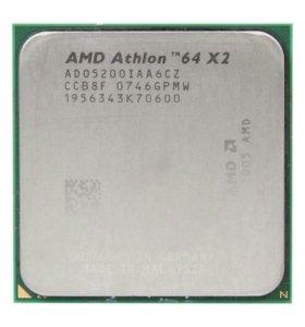 Процессор AMD Athlon 64 x2 5200 Bris/65W