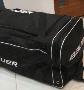 Bauer спортивная сумка на КОЛЁСАХ. ДОСТАВКА