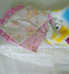 Одеяло в кроватку