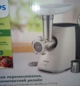 мясорубка филипс 1600вт 1.7кг/мин