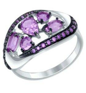 Серебро 925. Комплект серьги+кольцо