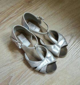 Туфли для бальных танцев Соло R307, кожа, 18.5 см