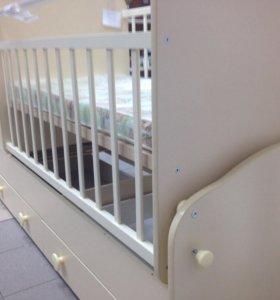 Детская кроватка 3-1