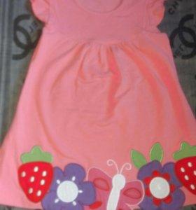 Летниее платье-туника