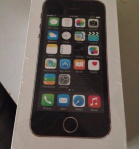 Apple & iPhone 5s Space Gray 16gb