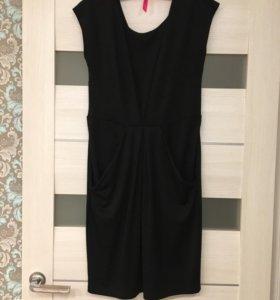 Чёрное платье 46-48